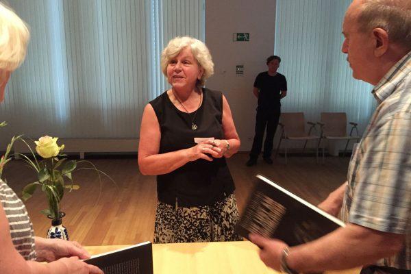 Die Lust am Unheimlichen, Buchpräsentation im Haus des Buches Leipzig, Autorin Reinhild Böhnke, 2. Juni 2017