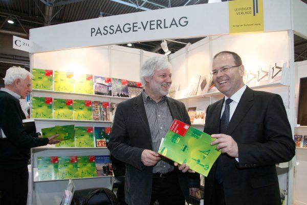Leipziger Buchmesse 2012, Uwe Albrecht, Bürgermeister für Wirtschaft und Arbeit
