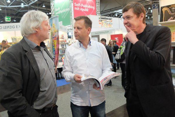 Buchmesse 2015, Torsten Bonew