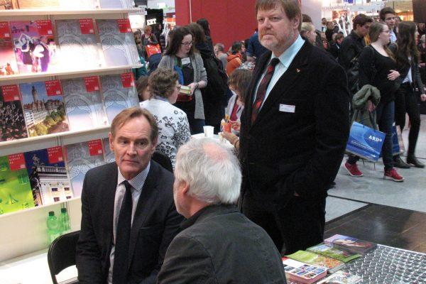 Buchmesse 2016, Burkhard Jung und Helmut Stadeler