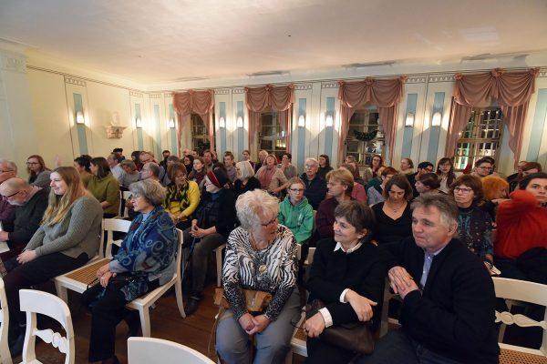 Bürger, Gärten, Promenaden – Leipziger Gartenkultur im 18. und 19. Jahrhundert – Buchpremiere in der Alten Nikolaischule – Blick in den Raum