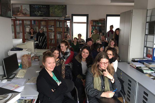 Bürger, Gärten, Promenaden, Autorenteam im Passage-Verlag am 16. November 2017