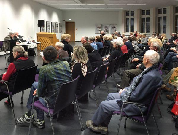 Brockhaus – Lesung mit Günter Gentsch in der Leipziger Stadtbibliothek, Dezember 2015