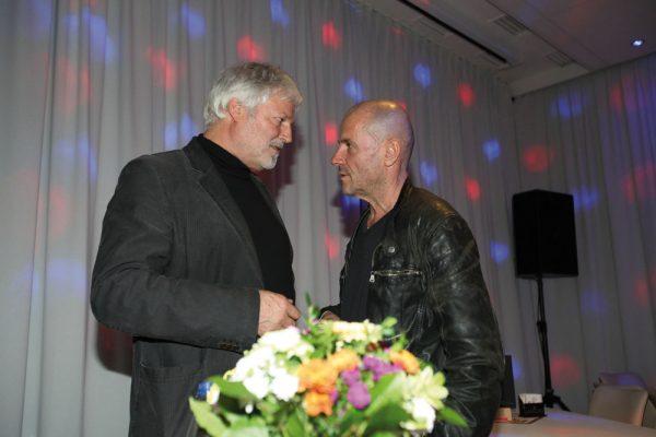 """Buchpremiere von """"Eingemauerter Twist"""" im Saal Regenbogen 2015, Stephan Krawczyk aus Berlin"""