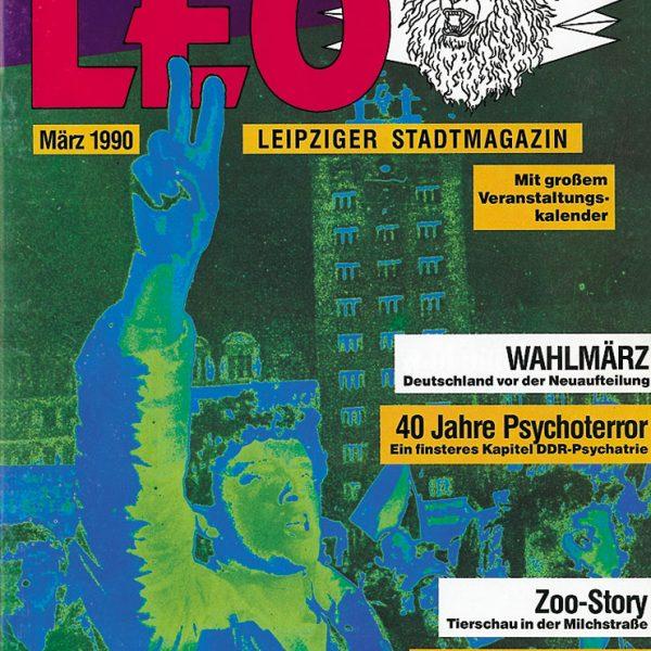 Leo – Leipziger Stadtmagazin, März 1990