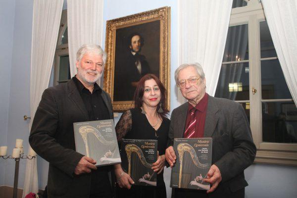 """Buchpremiere von """"Musica Lipsiensis"""" im Mendelssohn-Haus, Claudia und Johannes Forner, 2015"""