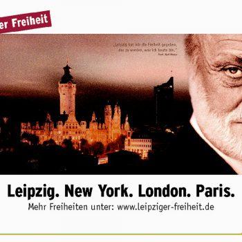 Leipziger Freiheit, Kurt Masur, Plakat, 2003