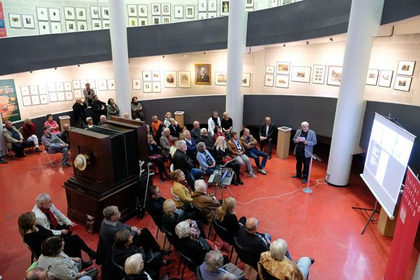 Präsentation der Leipziger Blätter 73, Deutsches Fotomuseum Markkleeberg, Wolfgang Hoquél, 22. Oktober 2018