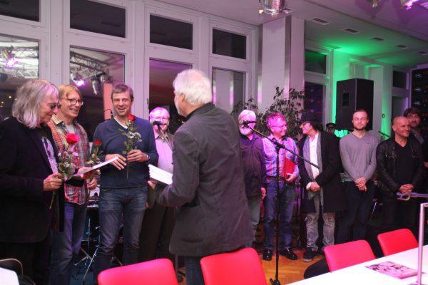 """Buchpremiere von """"Eingemauerter Twist"""" im Saal Regenbogen 2015"""
