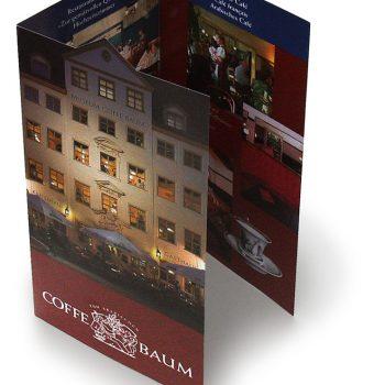 Coffebaum, Faltblatt, 2013