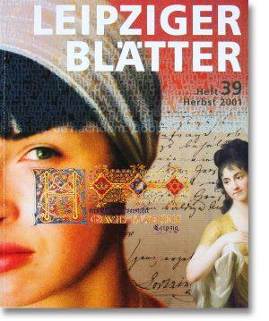 Leipziger Blätter 39