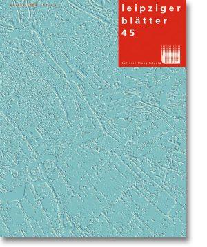 Leipziger Blätter 45
