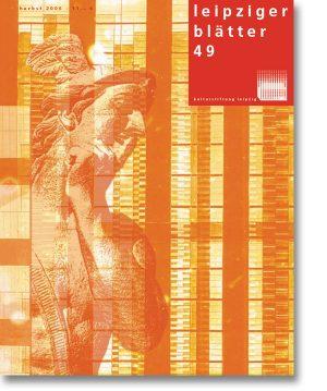 Leipziger Blätter 49