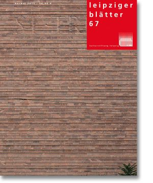 Leipziger Blätter 67