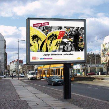 Leipziger Freiheit, Leipziger Blätter, Megaplakat, 2004