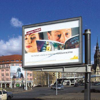 Leipziger Freiheit, Leipziger Blätter, Megaplakat, 2006