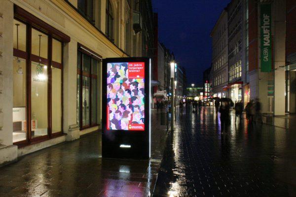 35 Jahre Leipziger Blätter, Innenstadt Leipzig, Plakat, 2017