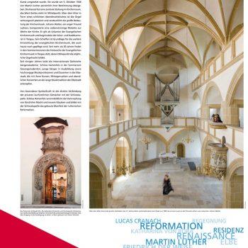 Torgau – Schlosskapelle, Tafel