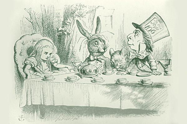 Erstausgabe »Alice im Wunderland« Breitkopf & Härtel in Leipzig hergestellt