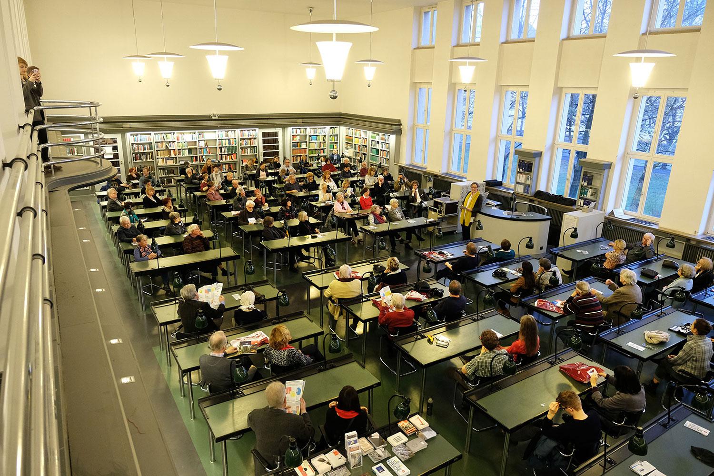 Leipziger Blätter 74, Präsentation, Stephanie Jacobs, Bauhauslesesaal der Nationalbibliothek Leipzig, 25. März 2019