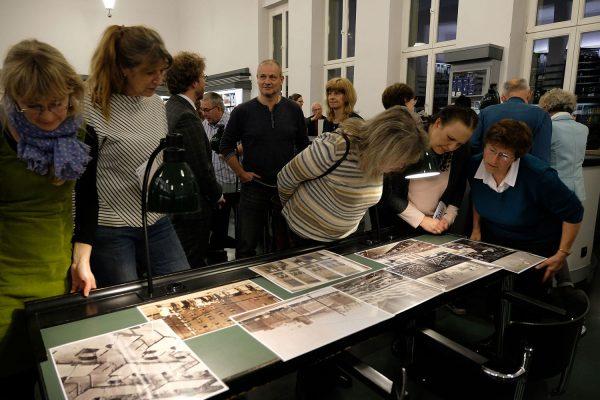 Leipziger Blätter 74, Präsentation, Besichtigung, Bauhauslesesaal der Nationalbibliothek Leipzig, 25. März 2019