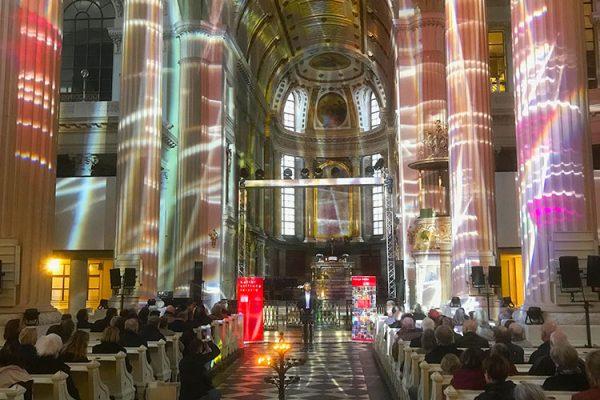 Leipziger Blätter 75 – Präsentation in der Nikolaikirche – Pfarrer Bernhard Stief