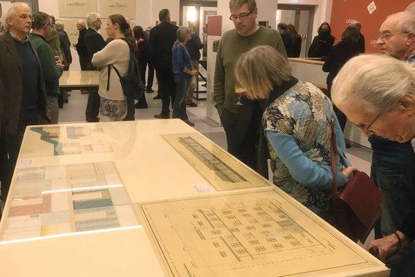 Architekturzeichnungen von Johannes Koppe, restaurierte Zeichnungen