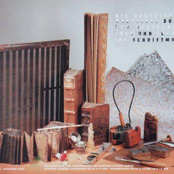 Deutsches Buch- und Schriftmuseum, Plakat