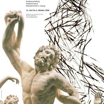 Laokoon – Schmerz und Leid, Plakat, 2008