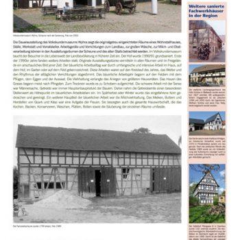 geschützt, gerettet, saniert – Volkskundemuseum Wyhra, Tafeln