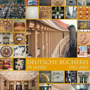 90 Jahre Deutsche Bücherei, Plakat, 2002