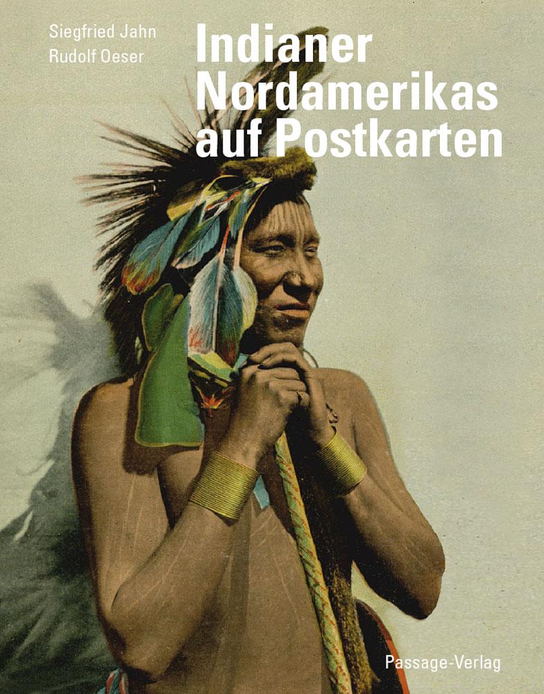 Indianer Nordamerikas auf Postkarten