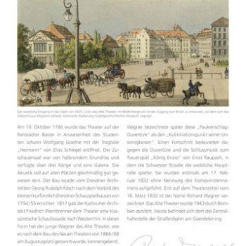Der junge Richard Wagner, Tafeln, 2011